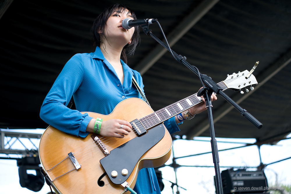 Thao and The Get Down Stay Down perform Waterloo Park @ the SXSW Music Festival, Austin, Texas