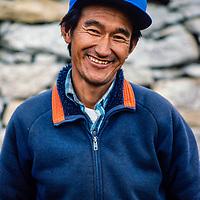 Sona Ishi Sherpa in the Khumbu region of Nepal 1986.