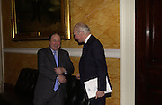 JIM NAUGHTIE AND SIR MENZIES CAMPBELL. Association awards, 2005. Institute of Directors. Pall Mall. London. 29 November 2005. ONE TIME USE ONLY - DO NOT ARCHIVE  © Copyright Photograph by Dafydd Jones 66 Stockwell Park Rd. London SW9 0DA Tel 020 7733 0108 www.dafjones.com