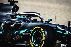 March 1, 2019 - Barcelona, Catalonia, Spain - VALTTERI BOTTAS (FIN) from team Mercedes drives in his W10 during day eight of the Formula One winter testing at Circuit de Catalunya (Credit Image: © Matthias OesterleZUMA Wire)