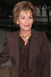 April 17, 2012 - New York, New York, U.S. - JUDGE JUDY SHEINDLIN arriving at the Vanity Fair party to celebrate the Tribeca Film Festival at the State Supreme Courthouse in New York City on April 17, 2012.   2012.(Credit Image: © Henry McGee/ZUMAPRESS.com)