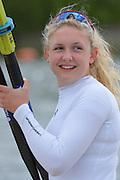 Reading. United Kingdom. GBR W1X, Jessica LEYDEN.  Redgrave and Pinsent Rowing Lake. Caversham.<br /> <br /> 13:23:04  Saturday  19/04/2014<br /> <br />  [Mandatory Credit: Peter Spurrier/Intersport<br /> Images]