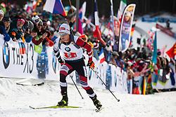 Felix Leitner (AUT) during the Mixed Relay 2x 6 km / 2x 7,5 km at day 3 of IBU Biathlon World Cup 2019/20 Pokljuka, on January 23, 2020 in Rudno polje, Pokljuka, Pokljuka, Slovenia. Photo by Peter Podobnik / Sportida