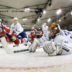 20111215: SLO,  Ice Hockey - Euro Challenge EICH Tournament, Russia vs France