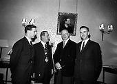 1966 President receives Association of Schools Union