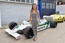 NATALIE PINKHAM at the launch of Dundas London held at Fiskins Classic Car Showroom, 14 Queens Gate Place Mews, London on 25th June 2014.