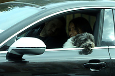 Excl: Frank Lampard is seen dropping his wife at airport - 27 Sep 2017