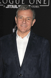 December 10, 2016 - Los Angeles, California, United States - December 10th 2016 - Los Angeles California USA - Executive ROBERT IGER at the World Premiere for ''Rogue One Star Wars'' held at the Pantages Theater, Hollywood, Los Angeles  CA (Credit Image: © Paul Fenton via ZUMA Wire)