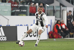 March 8, 2019 - Turin, Piedmont, Italy - Leonardo Spinazzola (Juventus FC) during the Serie A football match between Juventus FC and Udinese Calcio at Allianz Stadium on March 08, 2019 in Turin, Italy..Juventus won 4-1 over Udinese. (Credit Image: © Massimiliano Ferraro/NurPhoto via ZUMA Press)