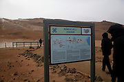 Lake Myvatn, Iceland, Pseudo Craters at Hverir geothermal field