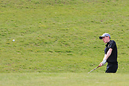 Darcy Hogg (RBAI) on the 7th during the Final of the Irish Schools Senior Championship at Portstewart Golf Club, Portstewart, Co Antrim on Tuesday 23rd April 2019.<br /> Picture:  Thos Caffrey / www.golffile.ie