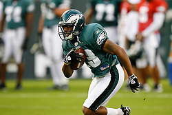 Philadelphia Eagles running back Marcus Thigpen #13 during the Philadelphia Eagles NFL Flight Night at Lincoln Financial Field in Philadelphia, Pennsylvania on Sunday August 2nd 2009. (Photo by Brian Garfinkel)