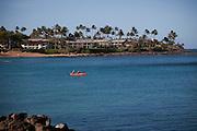 Kayak, Napili Bay, Maui, Hawaii