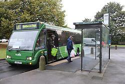 Local bus service, Nottingham,