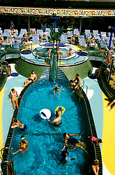 The Caribbean: Cruise ship Carnival Spirit..Photo copyright Lee Foster, 510/549-2202, lee@fostertravel.com, www.fostertravel.com..Photo #: caribb105