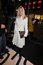 IMOGEN LLOYD WEBBER at the launch of the French Connection Denim store at 11 James Street, Covent Garden, London on 21st October 2009.