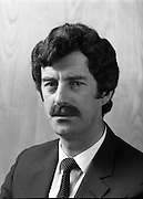 Dick Spring TD,Tanaiste.Minister for Energy.1984.20.03.1984.03.20.1984.20th March 1984..Portrait of Mr Dick Spring..Tanaiste and Minister for Energy..The Labour Party under the leadership of Mr Spring,joined with Fine Gael,Under Mr Garret Fitzgerald to form a government. Mr Spring also held the portfolio for environment until it was delegated to Mr Liam Kavanagh in the government shake up