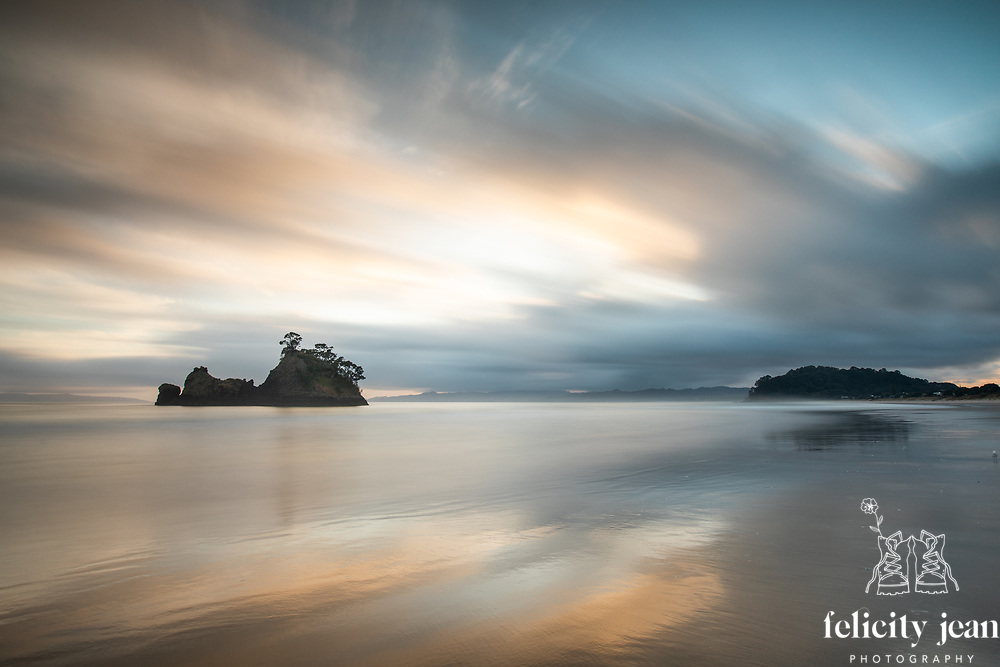 landscape photography coromandel peninsual new zealand felicity jean photography fleaphotos sunrise whangapoua