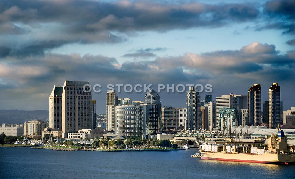 San Diego Skyline at North San Diego Bay