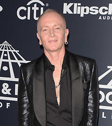 March 30, 2019 - Brooklyn, New York, USA - NEW YORK, NEW YORK - MARCH 29: Phil Collen of Def Leppard attends the 2019 Rock & Roll Hall Of Fame Induction Ceremony at Barclays Center on March 29, 2019 in New York City. Photo: imageSPACE (Credit Image: © Imagespace via ZUMA Wire)