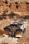 Armored Combat earthmover (ACE) at Fort. Ord, California,USA.
