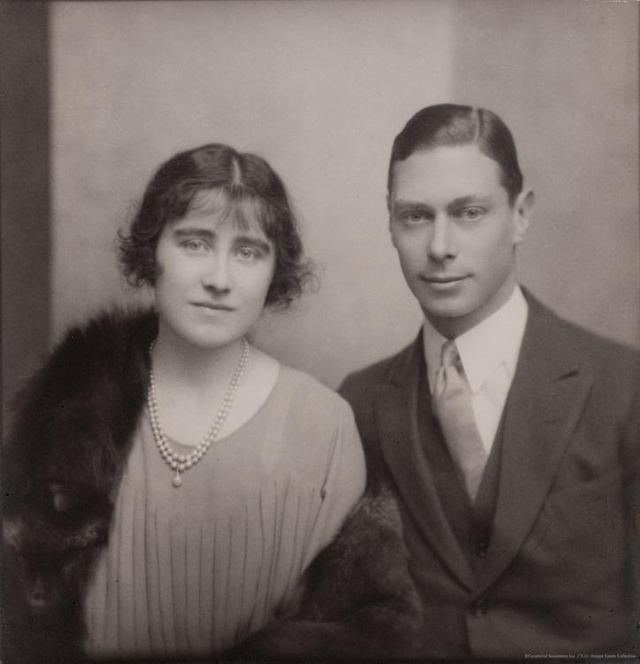 Royal Family: King George VI, H.R.H. Duke of York & Lady Elizabeth Bowes- Lyon, 1923