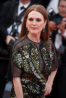 Actress Julianne Moore at the gala screening for Woody Allen's film Café Society at the 69th Cannes Film Festival, Wednesday 11th May 2016, Cannes, France. Photography: Doreen Kennedy