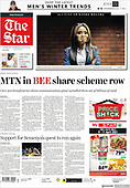 April 09, 2021 - AFRICA: Front-page: Today's Newspapers In Africa
