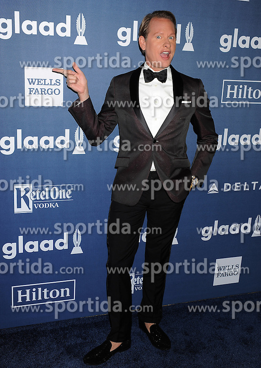 Carson Kressley, 27th Annual GLAAD Media Awards, at The Beverly Hilton Hotel, April 2, 2016 - Beverly Hills, California. EXPA Pictures © 2016, PhotoCredit: EXPA/ Photoshot/ Celebrity Photo<br /> <br /> *****ATTENTION - for AUT, SLO, CRO, SRB, BIH, MAZ, SUI only*****