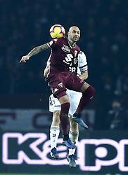 December 15, 2018 - Turin, Italy - Torino Fc V Fc Juventus - Serie A.Simone Zaza of Torino at Stadio Olimpico Grande Torino in Turin, Italy on December 15, 2018. (Credit Image: © Matteo Ciambelli/NurPhoto via ZUMA Press)