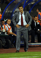 Fotball<br /> VM-kvalifisering Kroatia v England<br /> 09.09.2008<br /> Foto: Fotosport/Digitalsport<br /> NORWAY ONLY<br /> <br /> Slaven Bilic Manager<br /> Croatia 2008/09 <br /> Croatia V England World Cup 2010 Qualifying Match 10/09/08