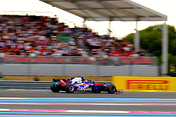 June 23, 2018 - Le Castellet, Var, France - Toro Rosso Driver PIERRE GASLY (FRA) in action during the Formula one French Grand Prix at the Paul Ricard circuit at Le Castellet - France. (Credit Image: © Pierre Stevenin via ZUMA Wire)