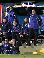 Photo: Lee Earle.<br /> Portsmouth v West Bromwich Albion. The Barclays Premiership. 17/12/2005. Portsmouth manager Harry Redknapp (R) instructs the team.