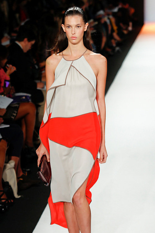 BCBG Max Azria Spring 2012 fashion show during New York Fashion Week, NYC, NY, USA.