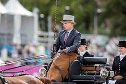 Geerts Glenn, BEL, Dash, De Solist, Erdball, Scampolo<br /> FEI European Driving Championships - Goteborg 2017 <br /> © Hippo Foto - Dirk Caremans<br /> 25/08/2017,