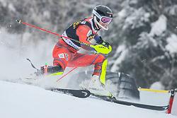 Jonathan Nordbotten (NOR) during 1st run of Men's Slalom race of FIS Alpine Ski World Cup 57th Vitranc Cup 2018, on March 4, 2018 in Kranjska Gora, Slovenia. Photo by Ziga Zupan / Sportida