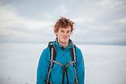 Jonathan Rheinlaender on Sverdruphamaren, Svalbard.