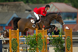 Van Gelderen Boy Adriaan, (BEL), Be Cool<br /> Class 16 Nations Cup YR<br /> International Competition CSIO Young Riders Opglabbeek 2016<br /> © Dirk Caremans
