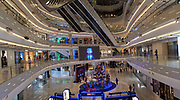 Modern glitzy shopping centre with all names and high brands. These places are notoriously empty most of time