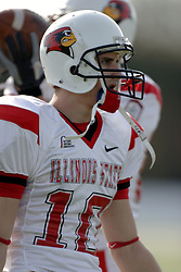 25 November 2006: Jake Rourke. &#xD;The Redbirds romped the Panthers by a score of 24-13.&#xD;This game was a 1st round NCAA Division 1 Playoff held at O'Brien Stadium on the campus of Eastern Illinois University in Charleston Illinois.<br />