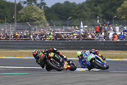 May 20, 2018 - Le Mans, France - 55 HAFIZH SYAHRIN (MYS) MONSTER YAMAHA TECH 3 (JPN) YAMAHA YZR M1 (Credit Image: © Panoramic via ZUMA Press)