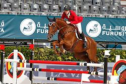 Devos Pieter (BEL) - Candy<br /> Furusiyya FEI Nations Cup Jumping Final Round 1<br /> CSIO Barcelona 2013<br /> © Dirk Caremans
