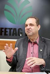 Carlos Joel da Silva, que é Presidente da Federação dos Trabalhadores na Agricultura no Rio Grnde do Sul - FETAG-RS. FOTO: Marcos Nagelstein/Agência Preview