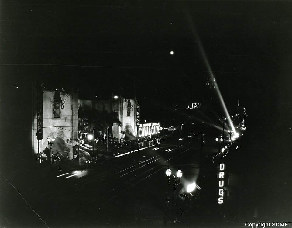 1933 Premiere of Cavalcade at Grauman's Chinese Theater