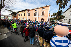 Start during the cycling race 6. VN Slovenske Istre / 6th Slovenian Istra Grand Prix, on February 24, 2019 in Izola/ Isola, Slovenia. Photo by Vid Ponikvar / Sportida