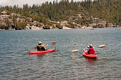 Pinecrest Lake, Watersports, Pinecrest, California, USA.  Photo copyright Lee Foster.  Photo # california122518