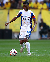 Thamsanqa Sangweni of Chippa United during the 1st leg of the MTN8 Semi Final between Chippa United and Mamelodi Sundowns held at the Nelson Mandela Bay Stadium in Port Elizabeth, South Africa on the 11th September 2016<br /><br />Photo by: Richard Huggard / Real Time Images