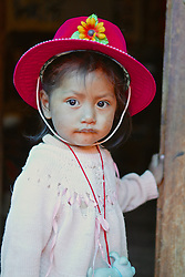 Young Girl With Red Hat