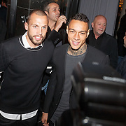 NLD/Amsterdam/20151110 - Life After Football Award 2015, Johnny Heitinga en Gregory van der Wiel