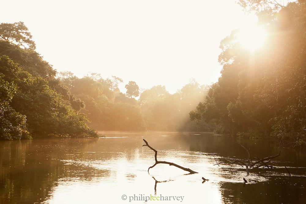 Sunrise, Lekoli River.